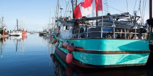 Comox Valley Fishing Trawler Vancouver island