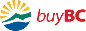 Logo of B.C. Government initiative Buy BC